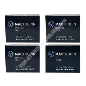 Trockenpackung - Stanozolol + T3 Cytomel - Orale Steroide (8 Weeks) Mactropin