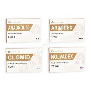 Mass Pack - عن طريق الفم الستيرويد Anadrol هو أوكسي ميثولون (أسابيع 4) A-Tech Labs