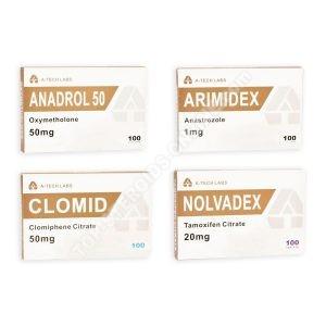 Balíček pro hromadné získání - orální steroid Anadrol Oxymetholone (4 týdny) A-Tech Labs