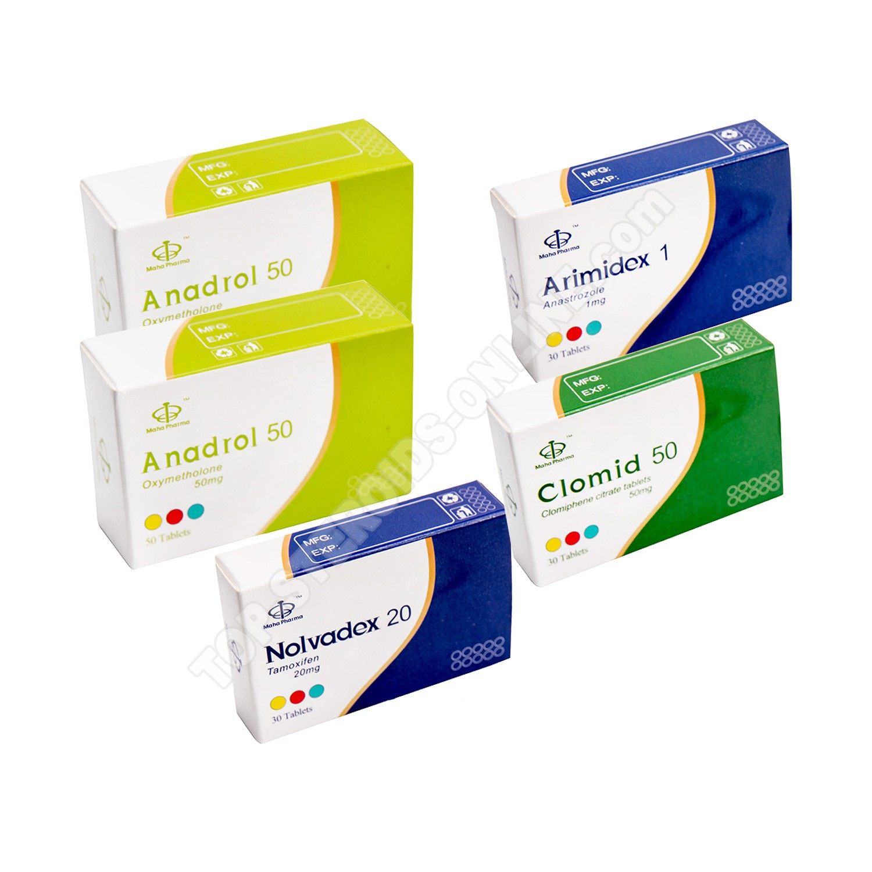 Pack prise de masse - Stéroide oral Anadrol Oxymetholone