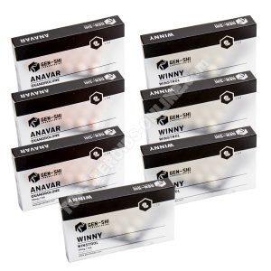 Pacchetto di guadagno di massa secca - Steroidi orali Anavar + Winstrol (settimane 6) Genshi Labs