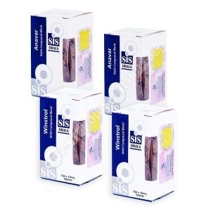 Pack prise de masse sèche – Stéroides oraux Anavar + Winstrol (6 semaines) SIS Labs