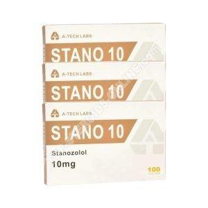 Pacchetto secco - A-Tech - Winstrol - Steroidi orali (6 settimane)