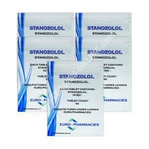 Confezione a secco - Euro Farmacie - Winstrol - Steroidi orali (6 settimane)