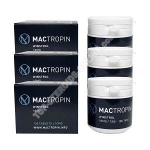 Impacco secco - Mactropin - Winstrol - Steroidi orali (6 settimane)