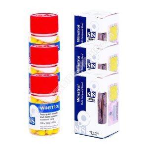 Сухой пакет - SIS Labs - Винстрол - пероральные стероиды (6 недель)