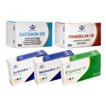 PACK MUSCLE SEC (INJECT) Maha Pharma – SUSTANON + PRIMOBOLAN + PCT (8 Semaines)