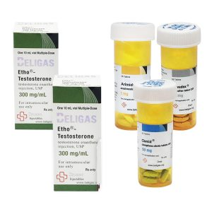 Balíček s hromadným ziskem (INJECT) - ENANTHATE 250 + OCHRANA + PCT (8 týdnů) Beligas Pharma