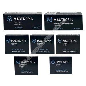 Kitle kazanç paketi (ENJEKT) SUSTANON + DECA + DIANABOL (8 hafta) Mactropin