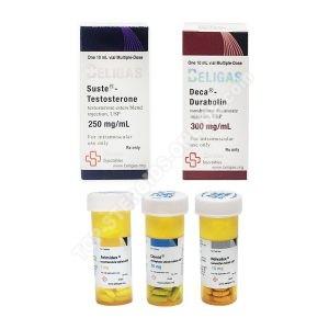 ΒΑΘΜΟΣ I (ΕΝΕΡΓΕΙΑ) πακέτο κέρδους μάζας - SUSTANON + DECA-DURABOLIN (8 εβδομάδες) Beligas Pharmaceuticals