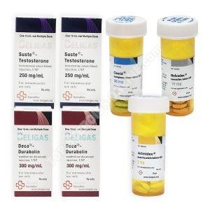 Pack prise de masse LEVEL II (INJECT) – SUSTATON 250 + DECA-DURABOLIN 250 + PCT (8 semaines) Beligas Pharmaceuticals