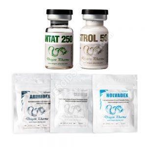 LEVEL I حزمة الكتل الجافة الجافة (حقن) - إينونيت + وينسترول + حماية + معاهدة التعاون بشأن البراءات (8 أسابيع) Dragon Pharma