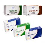 Pack Prise De Masse Sèche LEVEL I (INJECT) – ENANTHATE + WINSTROL + PROTECTION + PCT (8 Semaines) Maha Pharma