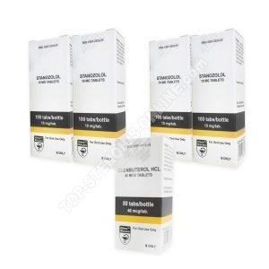 Pack sèche – Hilma – Winstrol+ Clenbuterol- Stéroides oraux (10 Semaines)