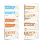 Pack Prise De Masse LEVEL III (INJECT) SUSTANON + DECA + DIANABOL (8 Semaines) A-Tech