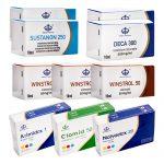 Pack Prise De Masse Sèche (INJECT) SUSTANON + DECA + WINSTROL (8 Semaines) Maha Pharma