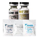 PACK PRISE DE MASSE SÈCHE – Testostérone Cypionate + Trenbolone Enanthate (10 Semaines) Dragon Pharma