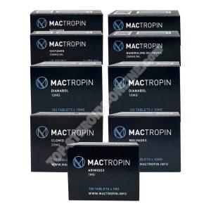 Kuru kütle kazancı paketi (INJECT-ORAL) SUSTANON + DECA + WINSTROL (8 hafta) Mactropin