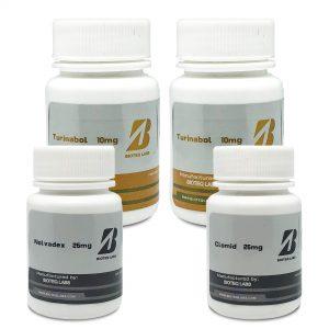 Pakiet przyrostu masy beztłuszczowej (doustnie 6 tygodni) - Turinabol + PCT - BioTeq Labs