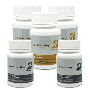 Paquete de ganancia de masa magra (oral 8 semanas) - Turinabol + PCT - BioTeq Labs