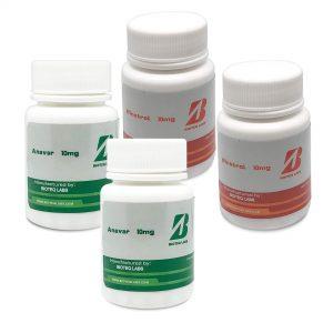 Balíček na hubnutí (orálně 6 týdnů) - Anavar + Winstrol - BioTeq Labs