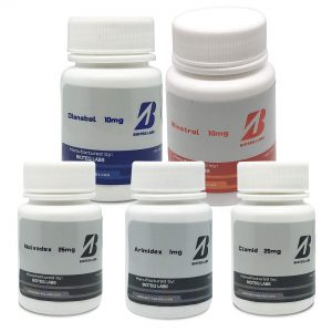 Pack Lean Mass Gain (Oral 4 Wochen) - Dianabol + Winstrol + Protections + PCT - BioTeq Labs