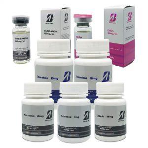 Κλασικό πακέτο μαζικής αύξησης (8 εβδομάδες) - Sustanon + Deca + Dianabol + Protection + PCT - BioTeq Labs