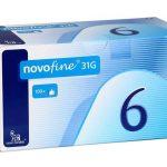 Novofine-6mm-31G-100-Pen-Needles-Novo-Nordisk