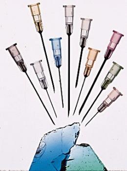 Nadeln für die Injektion von Steroiden